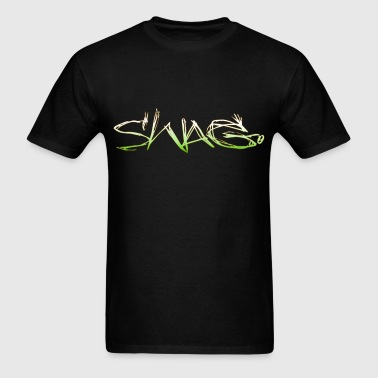 Swag Style T-Shirts: Swag Monster Text - Men's T-Shirt