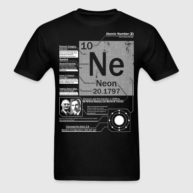 Neon Element t shirt - Men's T-Shirt