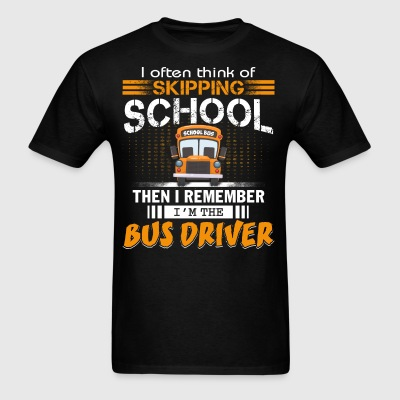 I'm The Bus Driver T Shirt - Men's T-Shirt