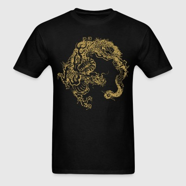 Japan traditional dragon - Men's T-Shirt
