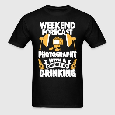 Weekend Forecast Photography Shirt - Men's T-Shirt