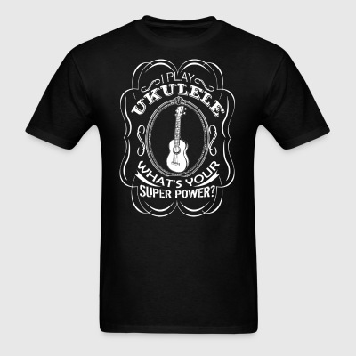 Play Ukulele Shirt - Men's T-Shirt