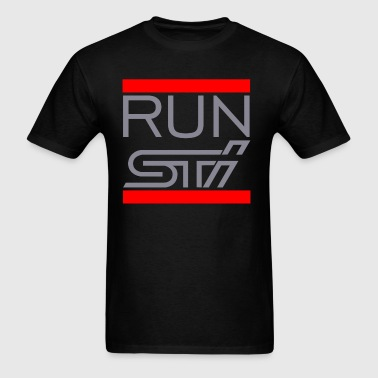 RUN STI - Men's T-Shirt