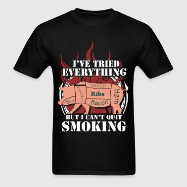 Bacon - I've tried everything to quit smoking - Men's T-Shirt