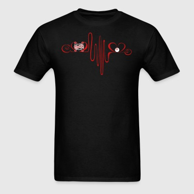 Bingo Heartbeat Shirt - Men's T-Shirt