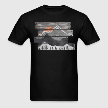 Into the Grey - Men's T-Shirt