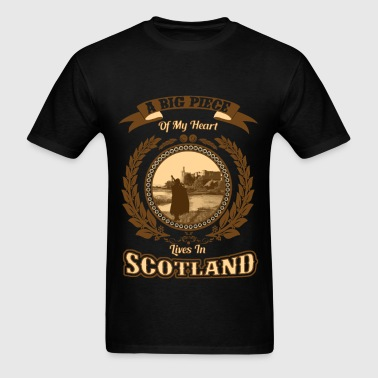 Scotland - A big piece of my heart - Men's T-Shirt