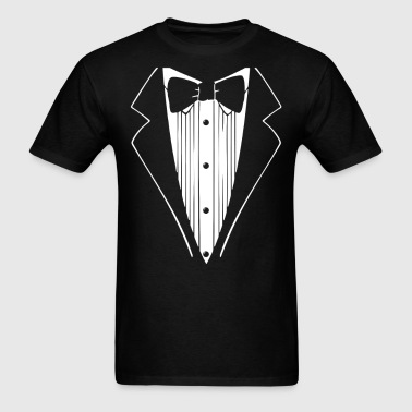Hot Funny TUXEDO Wedding - Men's T-Shirt