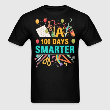 A 100 Days Smarter T Shirt - Men's T-Shirt