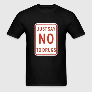ALM,  Say No To Drugs - Men's T-Shirt