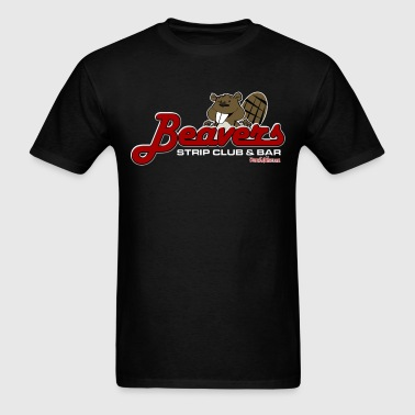 Beaver Strip Club  - Men's T-Shirt