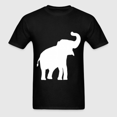 White Elephant Design - Men's T-Shirt