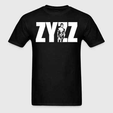 Zyzz Stand Text - Men's T-Shirt