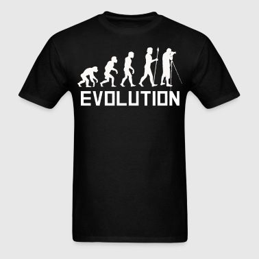 Photographer Evolution Funny Photography Shirt - Men's T-Shirt