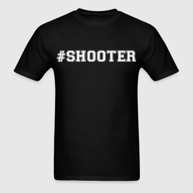 #shooter - Men's T-Shirt
