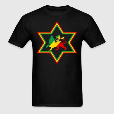 star rasta - Men's T-Shirt