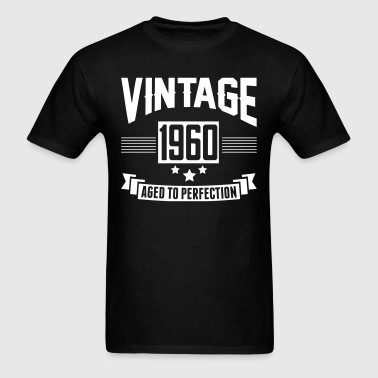 VINTAGE 1960 - Aged To Perfection - Men's T-Shirt