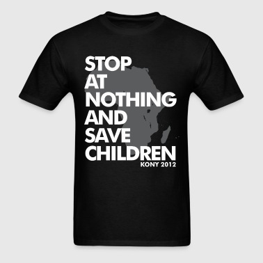 STOP AT NOTHING - Men's T-Shirt