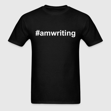 Hashtag Am Writing! - Men's T-Shirt