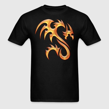 Gold Dragon - Men's T-Shirt