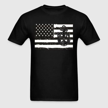 CPO Anchor Flag - Men's T-Shirt