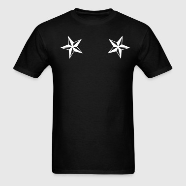 dual_nautical_stars - Men's T-Shirt