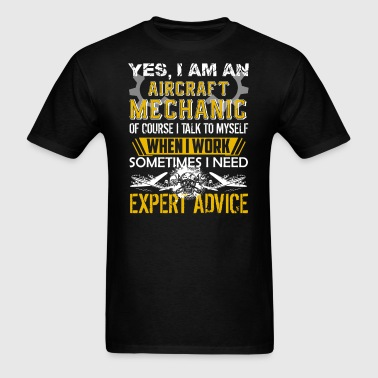 Aircraft Mechanic Shirt - Men's T-Shirt