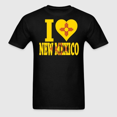 I LOVE NEW MEXICO - Men's T-Shirt