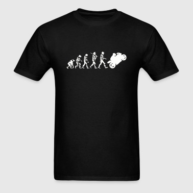 Evolution Motorcycle - Men's T-Shirt
