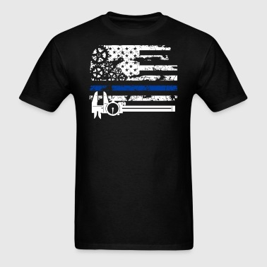 Machinist Flag Shirt - Men's T-Shirt