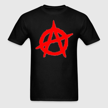 Anarchy Symbol - Men's T-Shirt