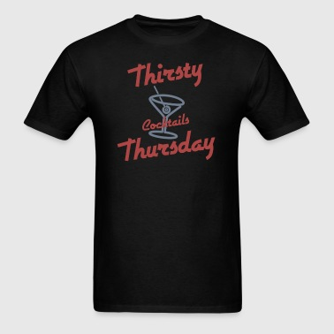 Retro Thirsty Thursday - Men's T-Shirt