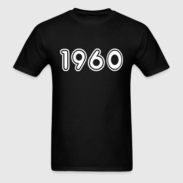 1960, Numbers, Year, Year Of Birth - Men's T-Shirt