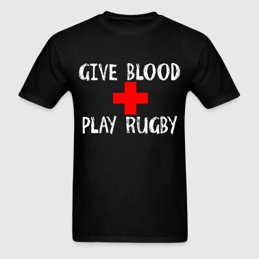 Give Blood, Play Rugby - Men's T-Shirt