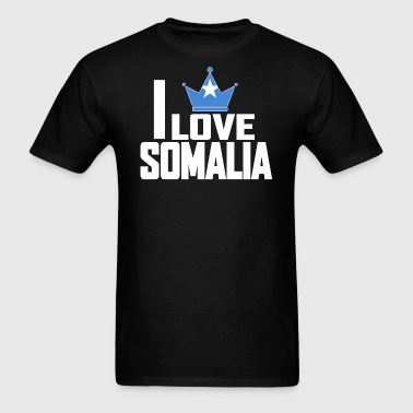 I LOVE SOMALIA - Men's T-Shirt