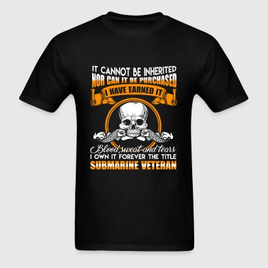 Submarine Veteran Shirt - Men's T-Shirt