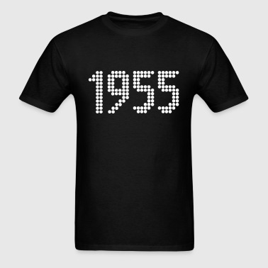 1955, Numbers, Year, Year Of Birth - Men's T-Shirt