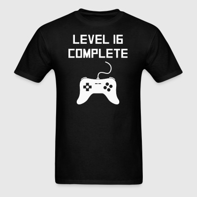 Level 16 Complete Video Games 16th Birthday - Men's T-Shirt