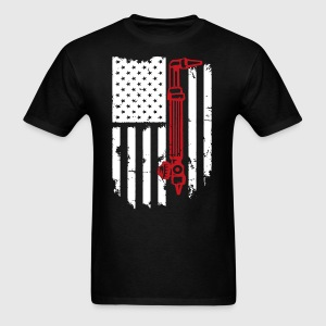 Welding Flag Tshirt - Men's T-Shirt