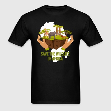 African Wildlife - Men's T-Shirt