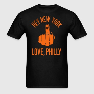 Love, Philly - Men's T-Shirt