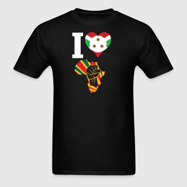Burundi Black Power - Men's T-Shirt