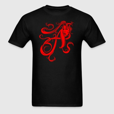 The Scarlet Letter - Men's T-Shirt