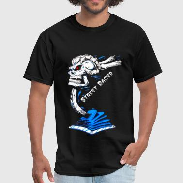 Street Racer Skull Shifter - Men's T-Shirt