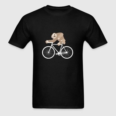 Sloth Cycling Team Funny Bike Bicycle Ride Gift - Men's T-Shirt