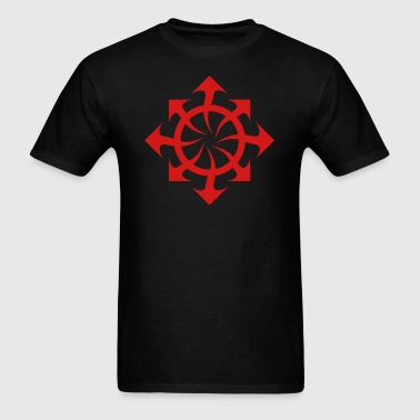 chaos symbol - Men's T-Shirt