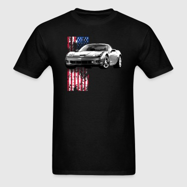 Corvette US - Men's T-Shirt