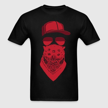 red blood gang member  - Men's T-Shirt