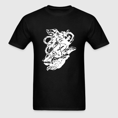 Giant Squid vs - Men's T-Shirt