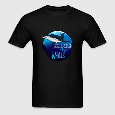 Save the Whales - Men's T-Shirt